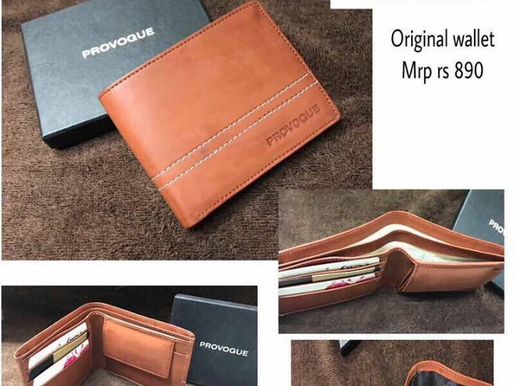Provogue original wallet with box. Best for gifting and promotions. * 410+$(60) 3pics same…