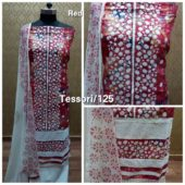 suits ₹1 – Jhilmil Colony *Summer's special* Top – Cotton printed with embroidery all…