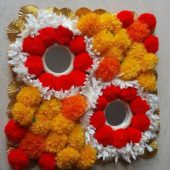 Rangoli mats ₹100 This Diwali decorate ur home with beautiful designer Rangoli mats n…