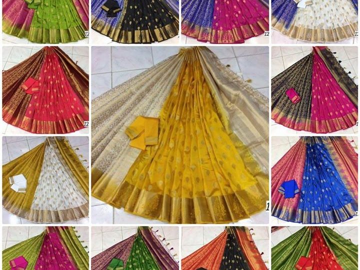 Sarees for upcoming festivals ₹1 – Greater Noida – Smart City #AANANDI #CREATIONS FOR…
