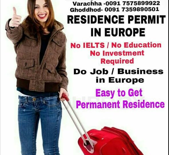RG Group Residence Permit in Europe. Within 4 Months. No IELTS / No Education…
