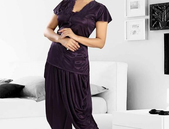 nightwear pattiyala fabric-sattin size-s,m,l,xl,xxl any time available ₹1 – Pune, Maharashtra