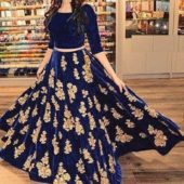 Gown FREE – Ahmedabad, India All different gown Havy matirial New latest designer gown…