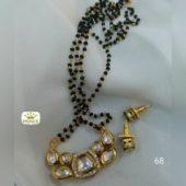 High quality base behind every kundan and fine quality chain