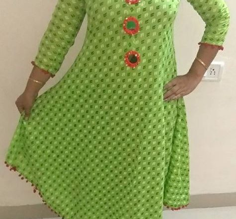 Long Kurti ₹800 – Indore, India Long floor length kurtis available 550-800 For order…