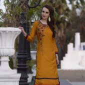 Designer kurtis ₹9 – OSR Designer collection Fabric heavy rayon with embroidery Size xl…
